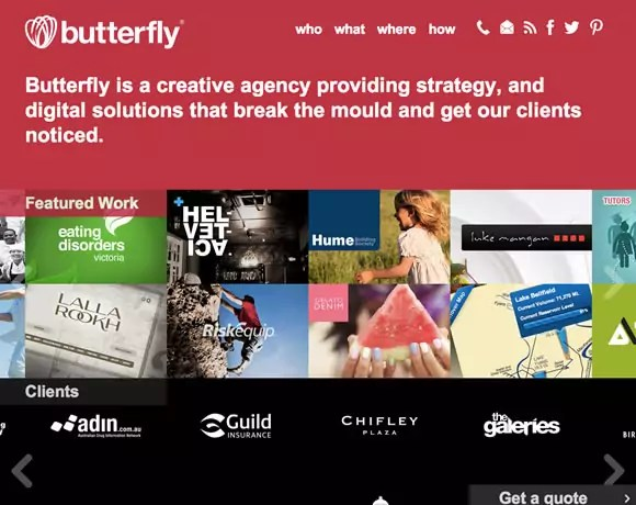 19 Beautiful and Colorful Websites for your Inspiration