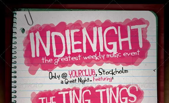 Indie-night-premium-print-ready-flyers