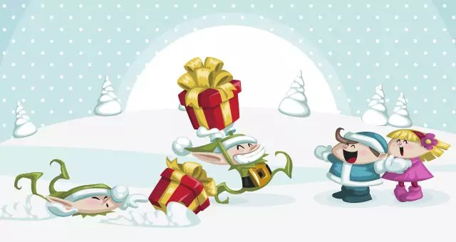 004-merry-christmas-characters-funny-vector-santa-clous