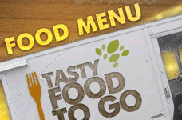 Food Truck Menu Flyer