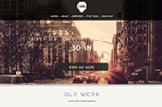 Flat & Clean | One Page Parallax Muse Theme