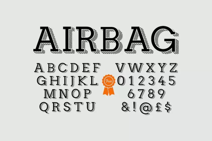 airbag-font