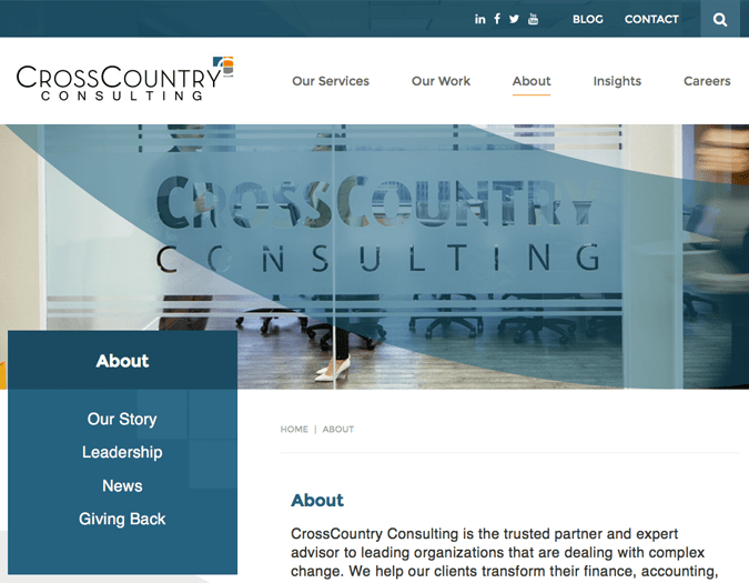 Portfolio image of CCC-about