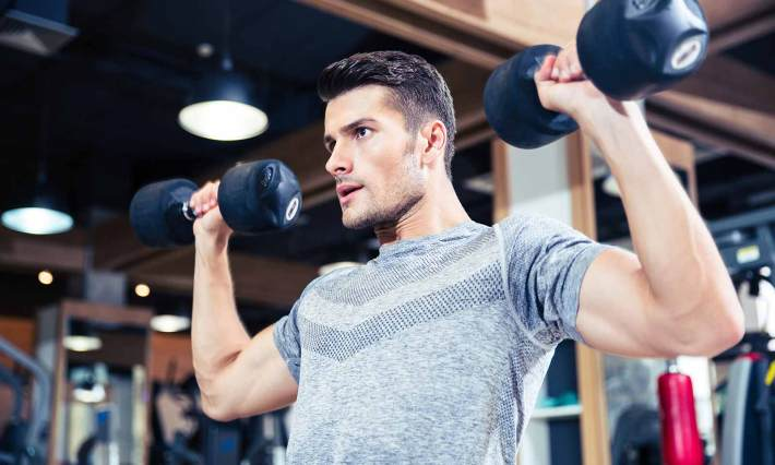 how many exercises per workout