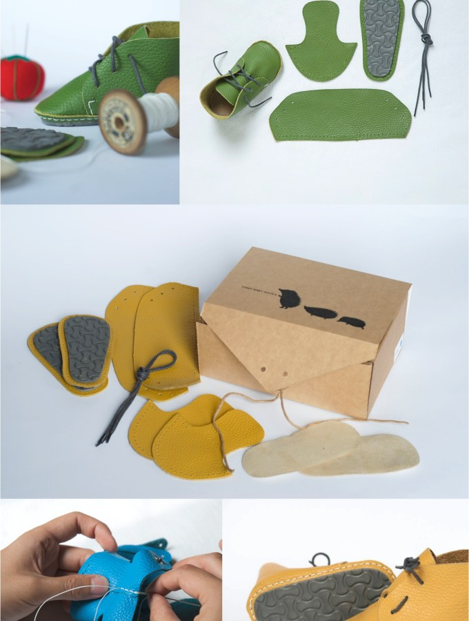 DIY first baby shoes…