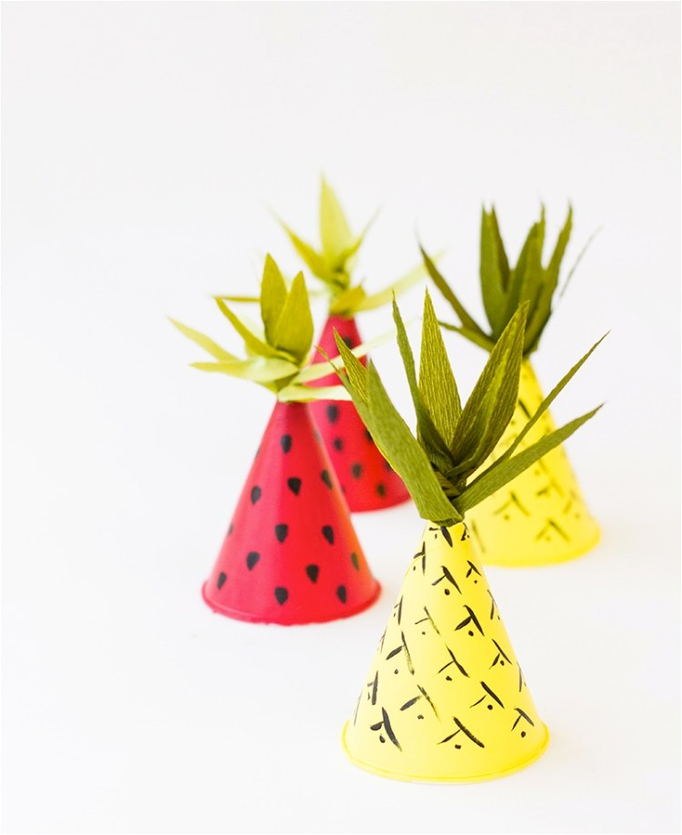 make your own party hats