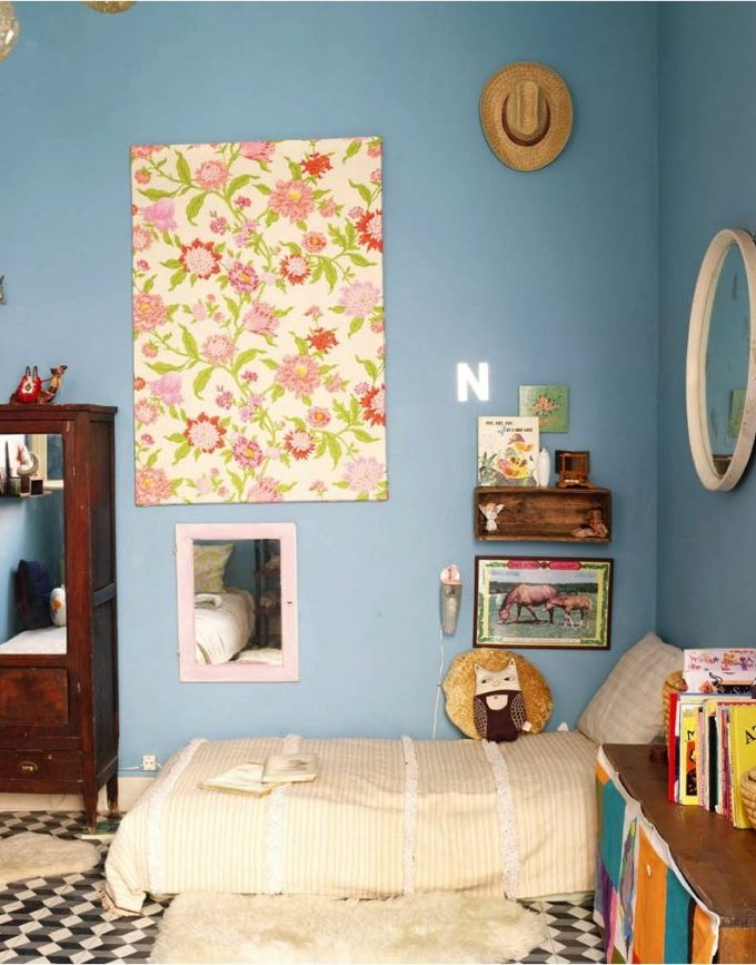 5 imaginative ways to use wallpaper