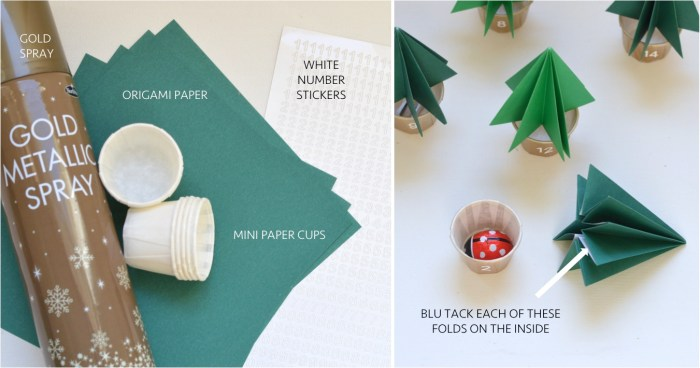 """DIY Christmas advent calendar 2014"""