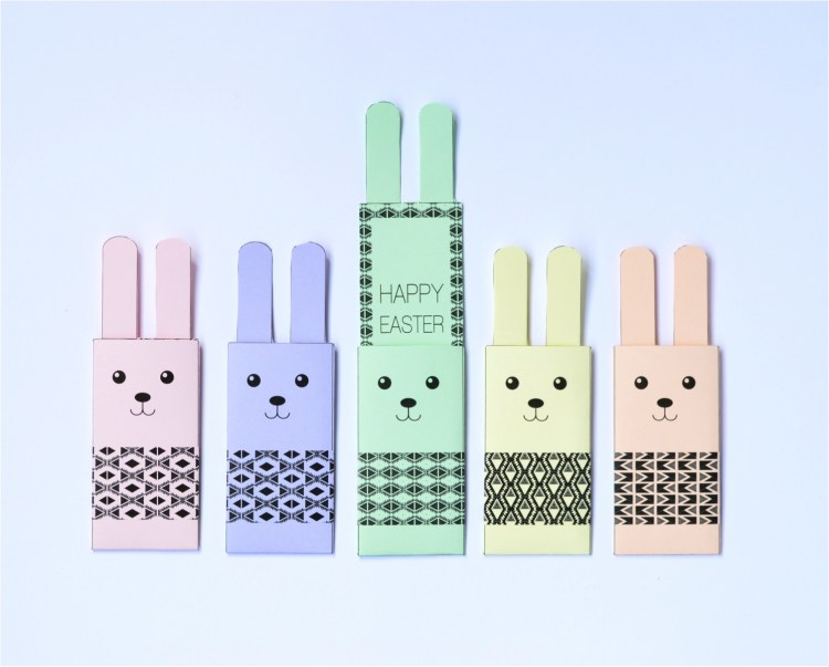 free printable easter bunny crafts