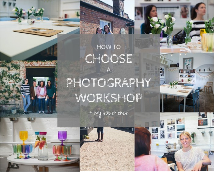 how to choose a photography workshop