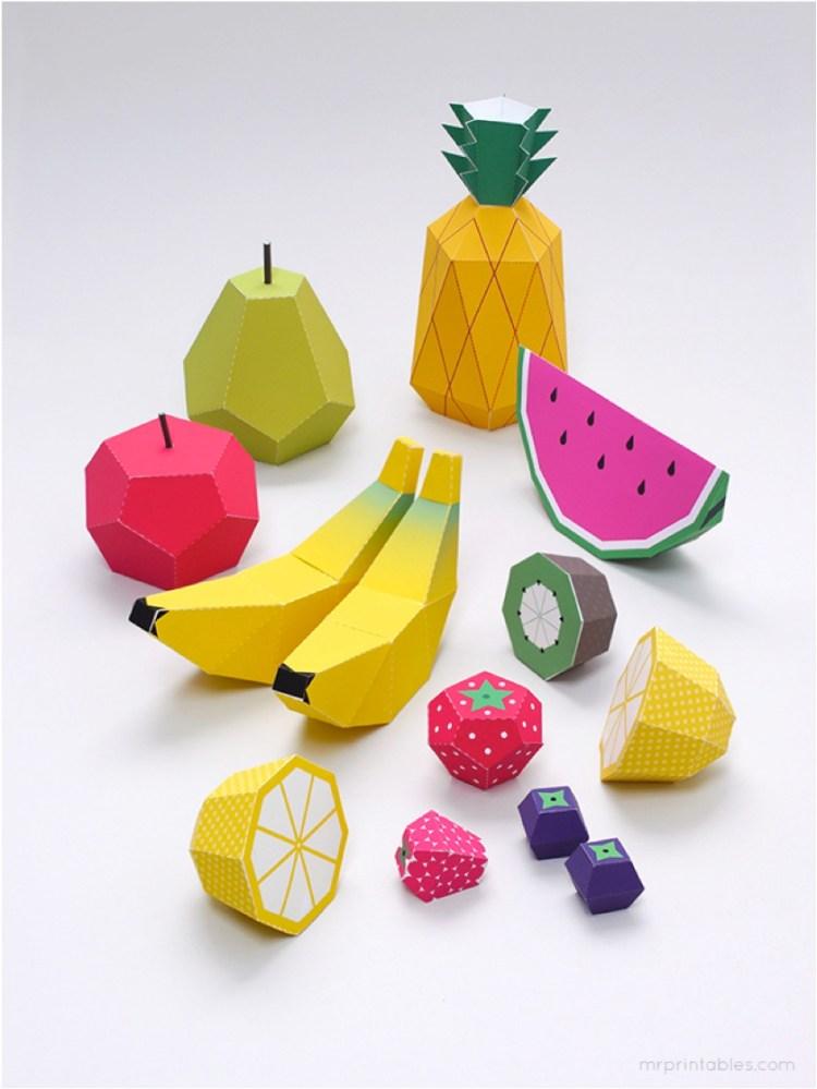 fruit crafts for children