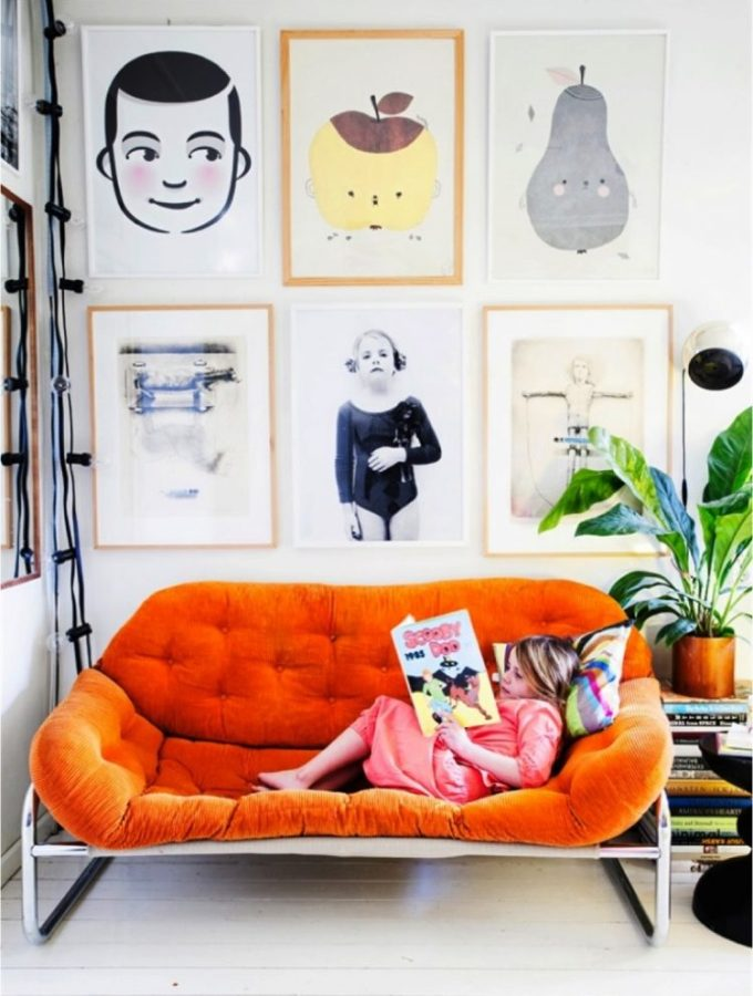 How to create an interesting gallery wall