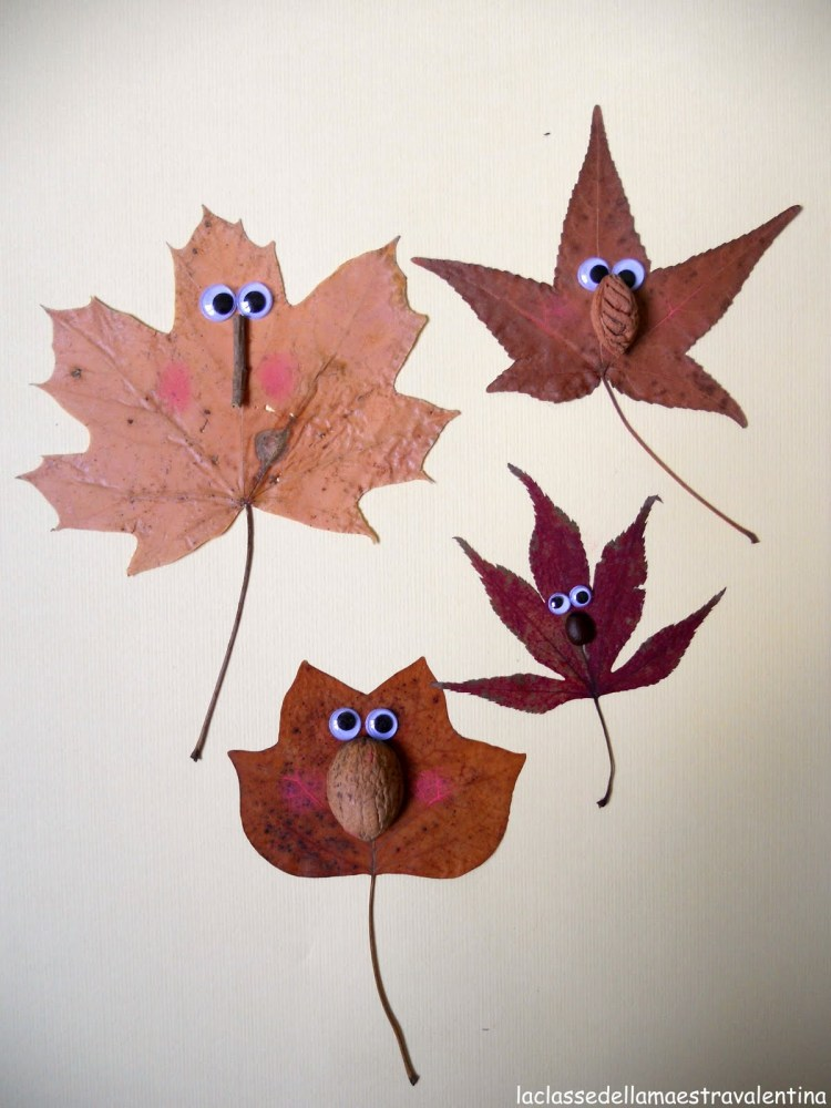 autumn leaves crafts for kids