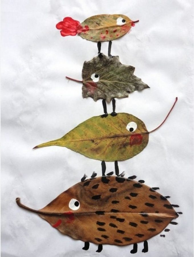 7 fabulous autumn leaf crafts