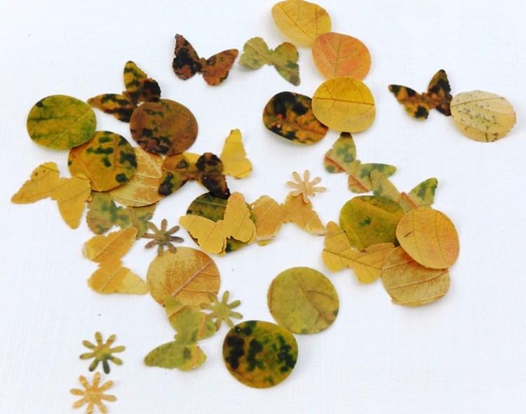 fall leaves easy DIY ideas