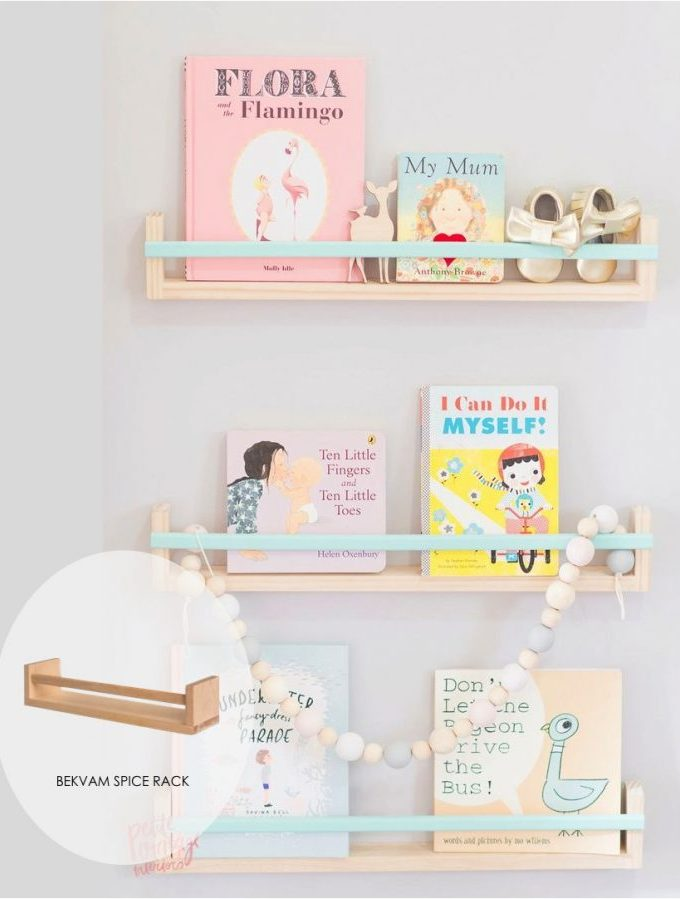 Five cool shelf ideas (to create using ikea shelves)