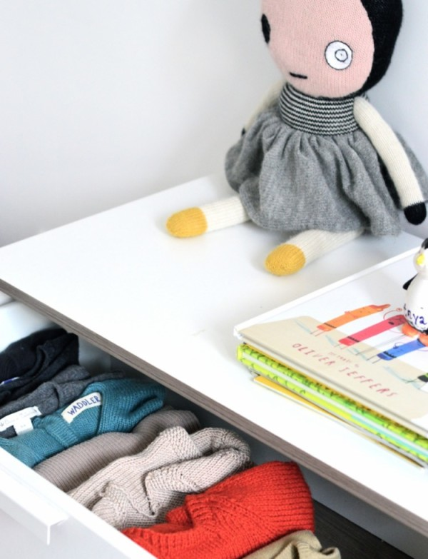 Get organised: A clever clothes storage idea
