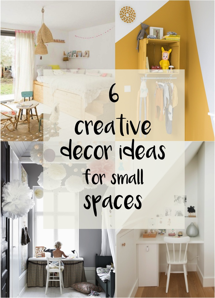 decor ideas for small kids rooms & 6 space saving ideas for small kids bedrooms - DIY home decor - Your ...