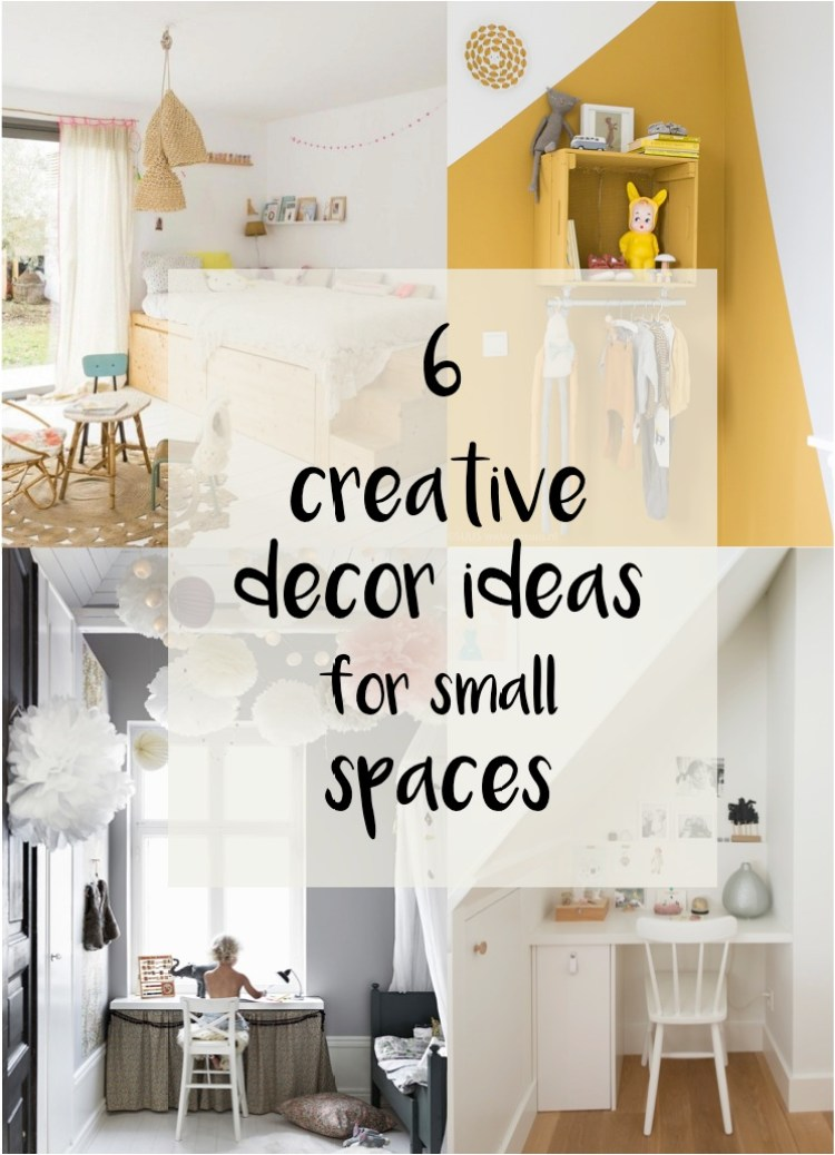6 space saving ideas for small kids bedrooms diy home decor your diy family Home decor ideas for small homes images