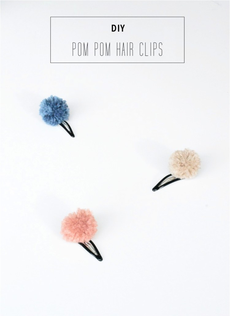 DIY-pom-pom-hair-clips1