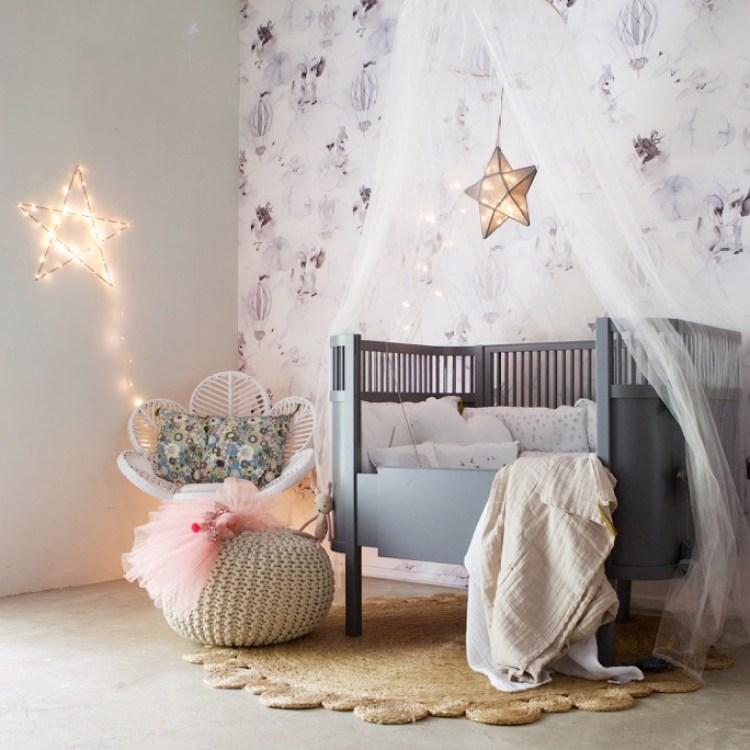 kids bedroom fairy lights