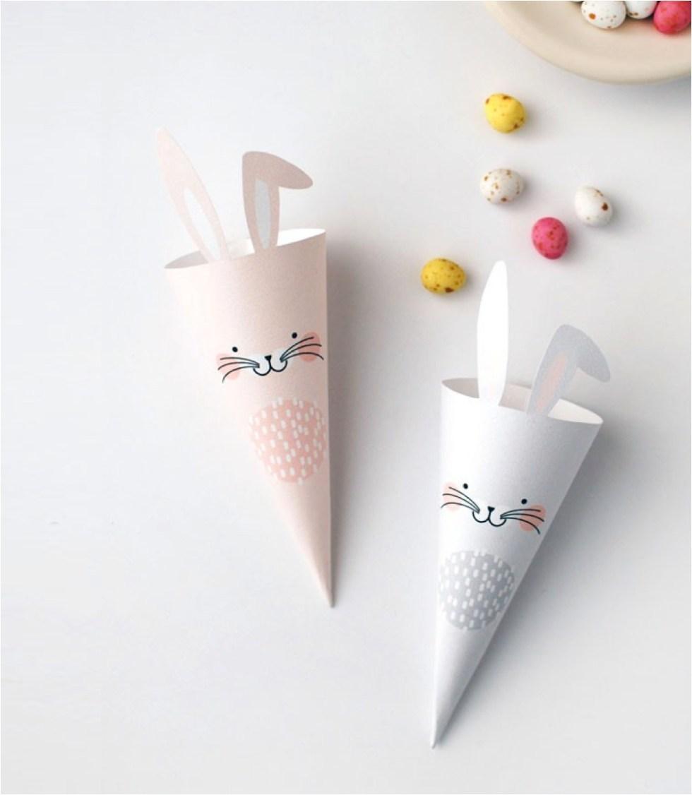 free printable easter bunny craft