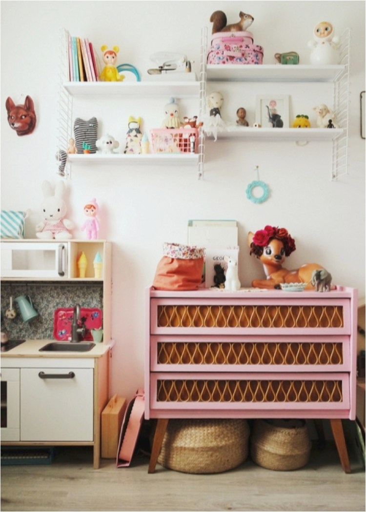 vintage kids rooms