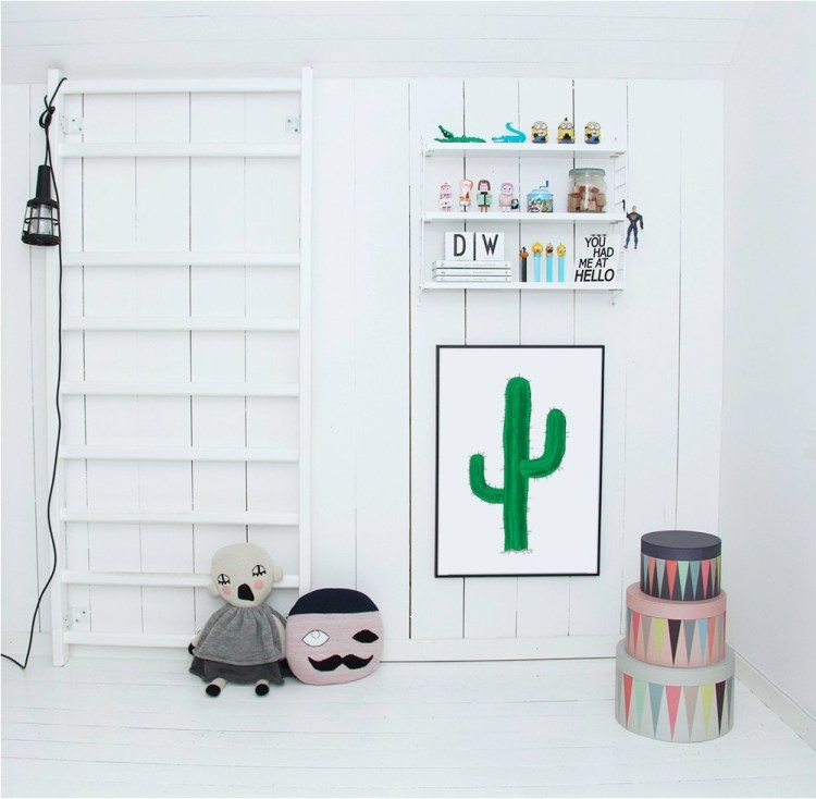 childrens bedroom shelves