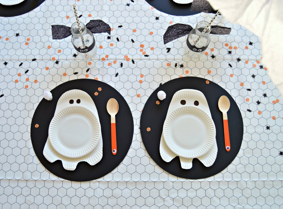Halloween party table decorations ideas