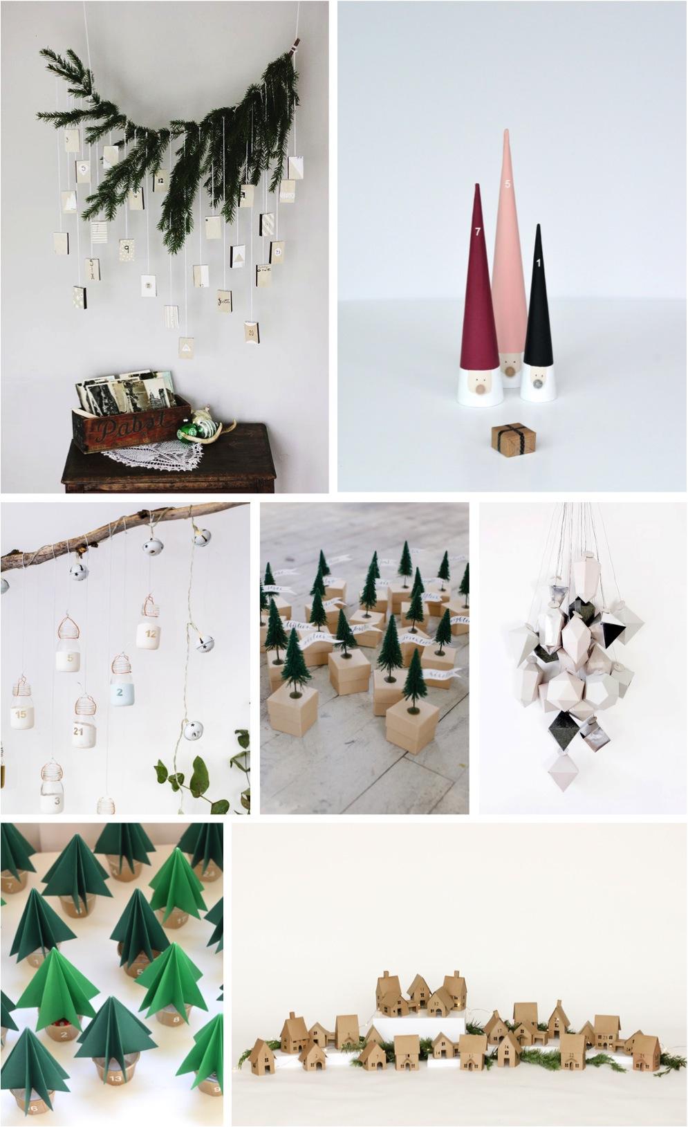 Calendar Ideas For Home : Diy advent calendar ideas to inspire you home