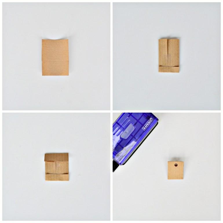 how to make mini envelopes for advent calendar