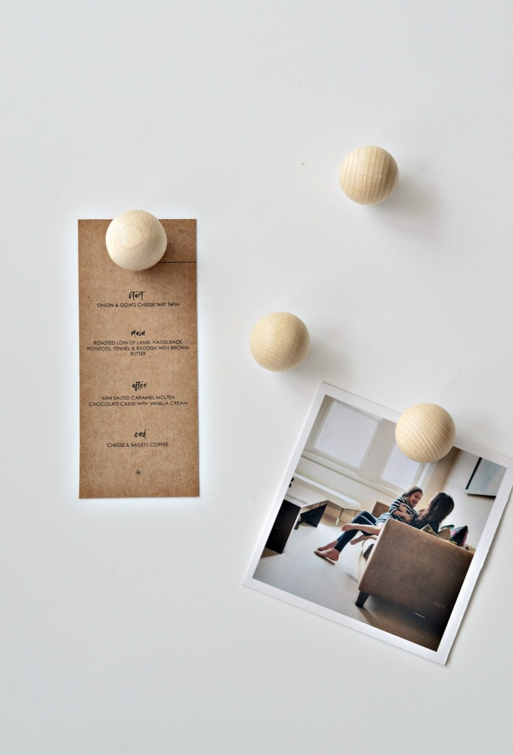 Minimal Wooden Diy Fridge Magnets Diy Home Decor Your