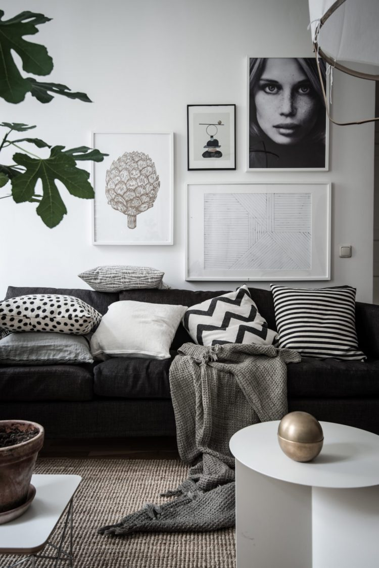 8 clever small living room ideas (with Scandi style) - DIY ...