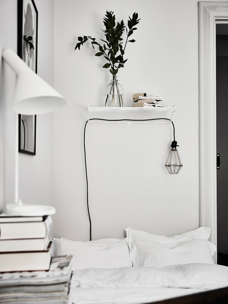 hanging pendant bedside light