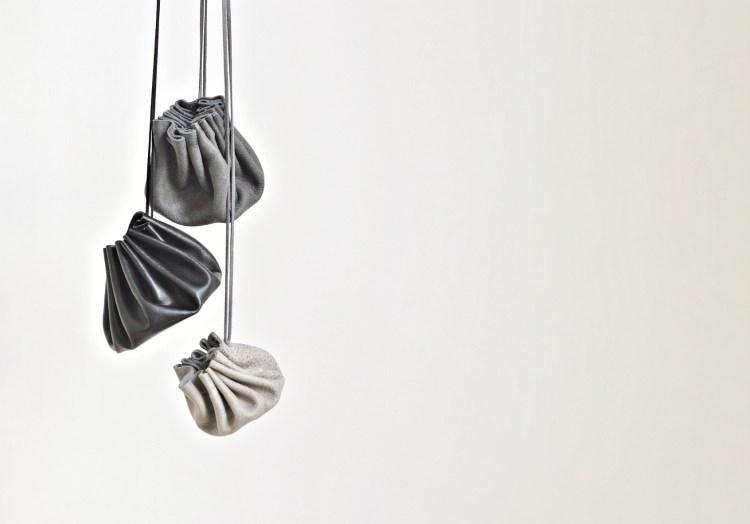 leather drawstring purse diy