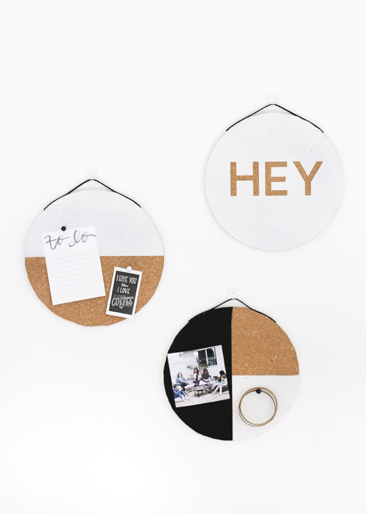 DIY mini cork boards