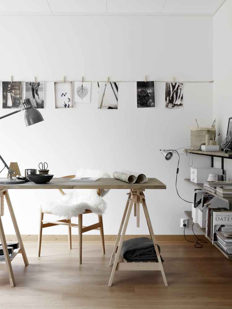 home office desk tidy ideas