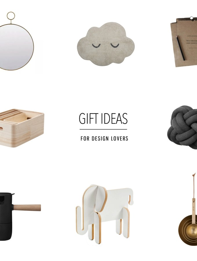 Christmas gift ideas for design lovers