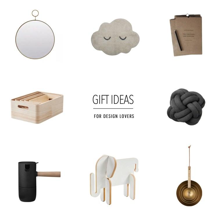 gift ideas for design lovers