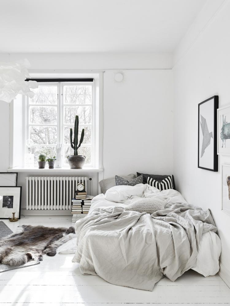 tips for scandinavian style bedroom