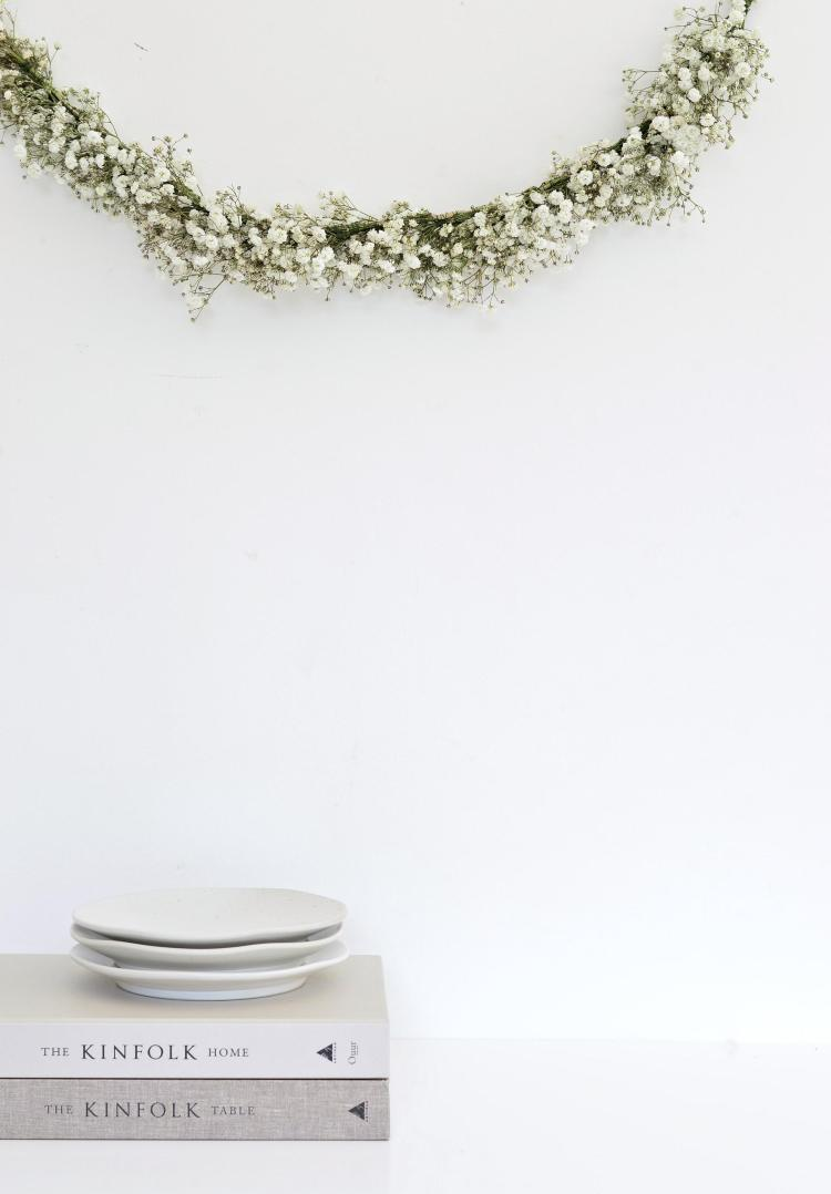 flower garland diy