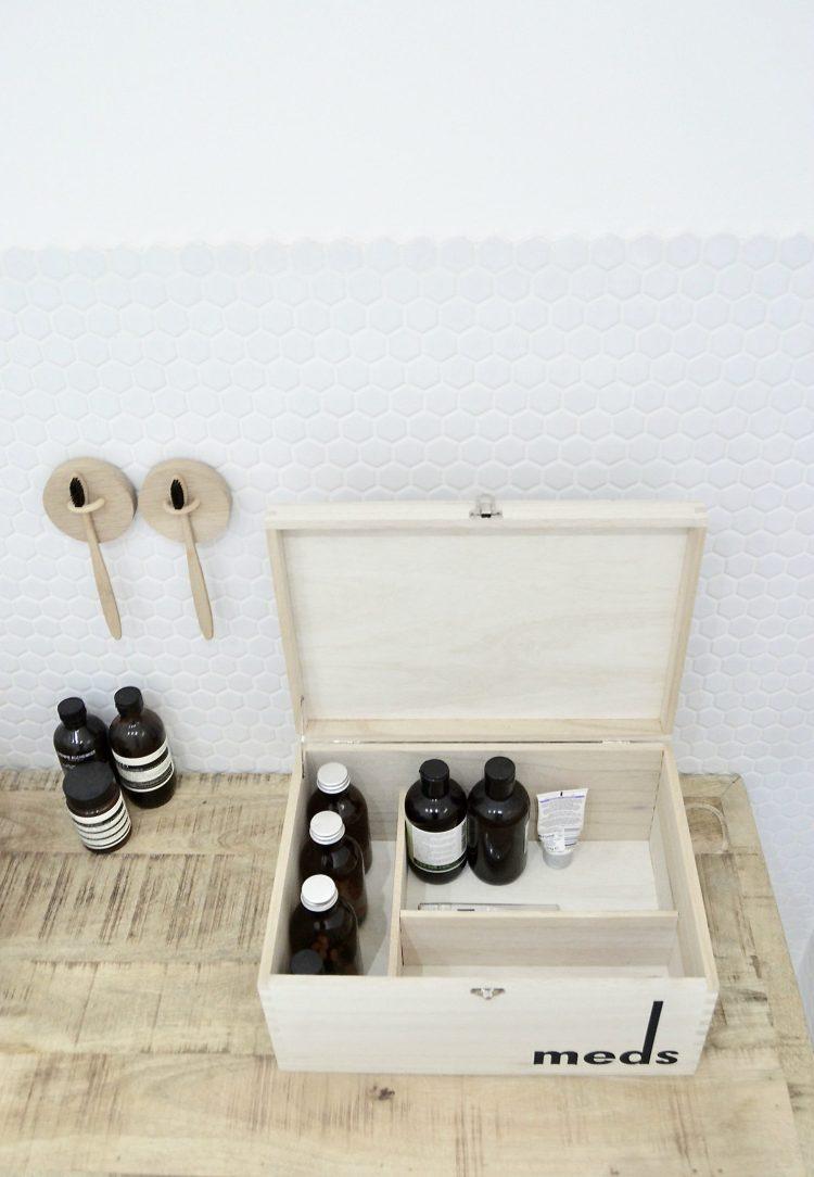 medicine storage box diy