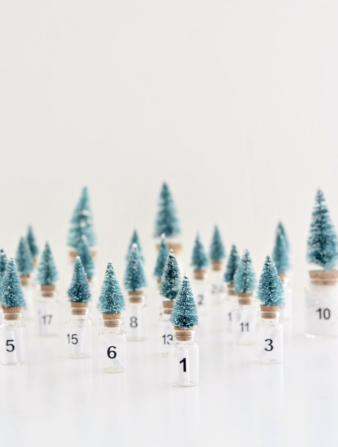 DIY Christmas tree advent calendar (+ the loveliest filling for any age)