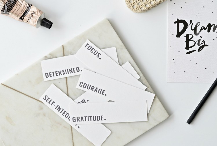 one word challenge free printable bookmarks