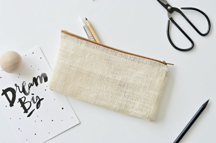no sew fabric pencil case