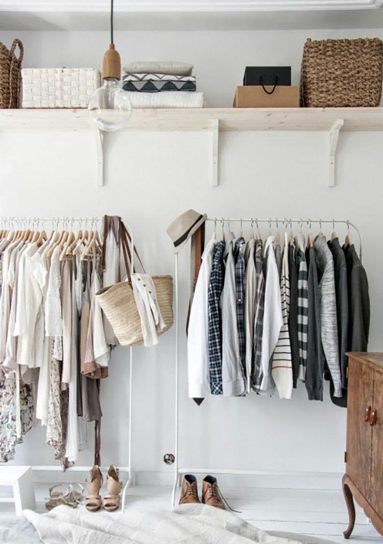 wardrobe ideas for small bedrooms
