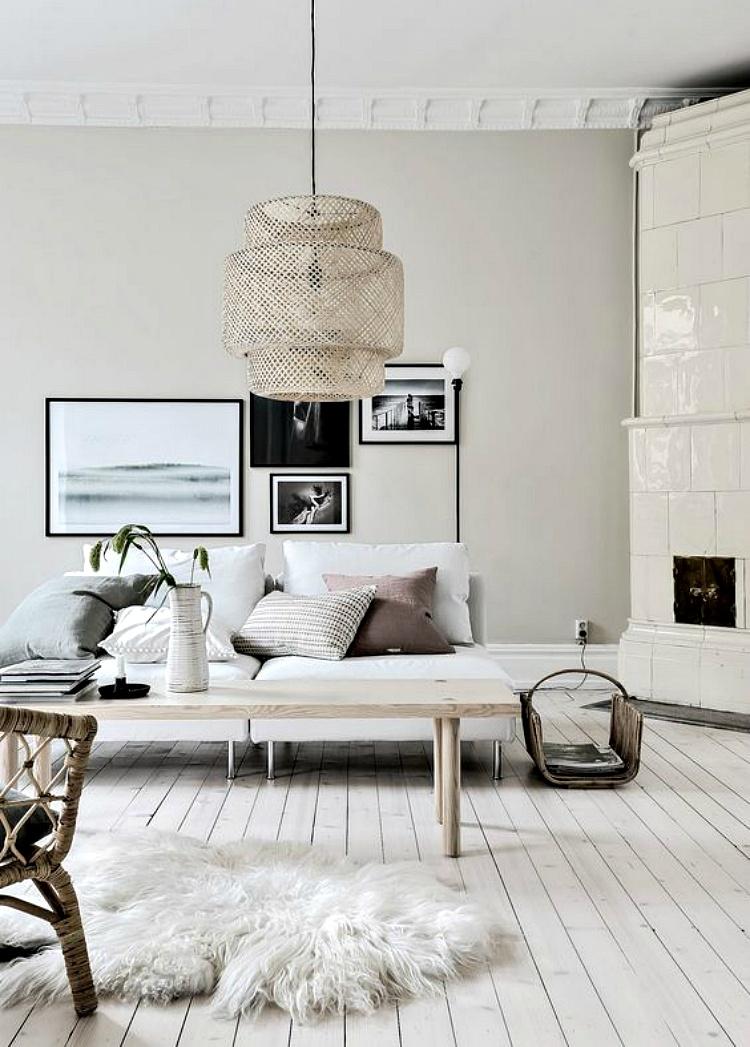 Scandinavian living room decor