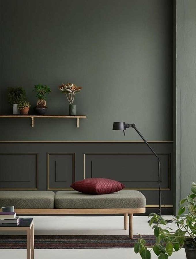 Little decor ideas for big impact: match wall color with furniture