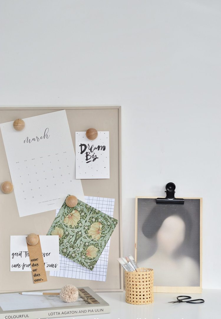 DIY ikea cork board hack