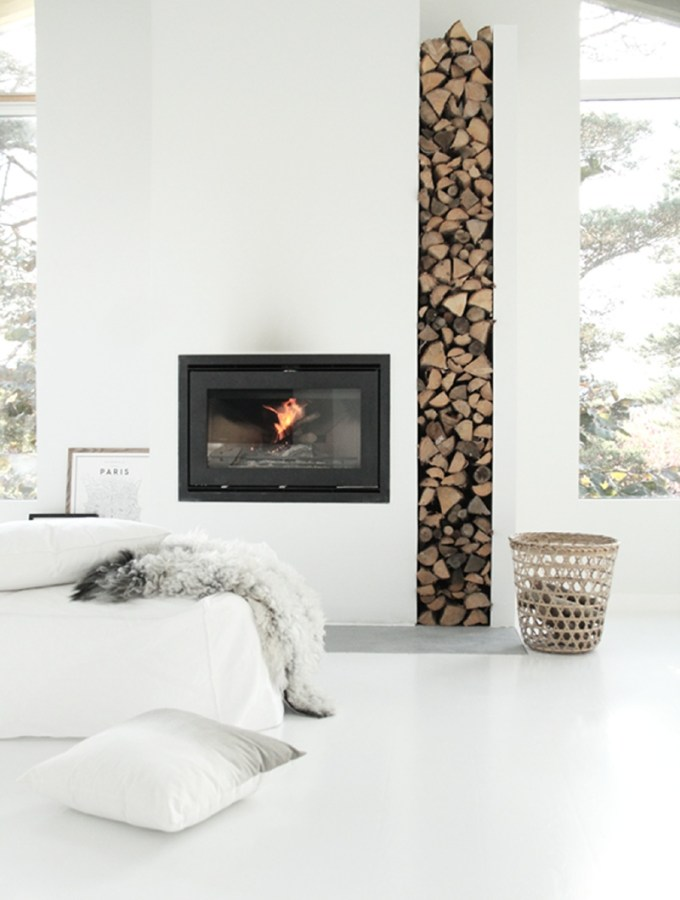 nordic style fireplaces